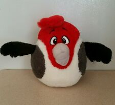 """Angry Birds Rio Pedro Red Plush  with Sound 7"""" Tall"""