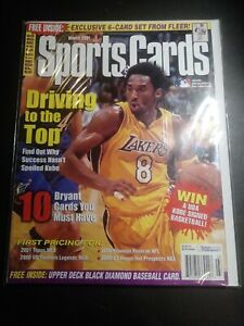 March-2001-Issue-Of-Sports-Cards-Magazine-With-Kobe-Bryant-On-The-Cover
