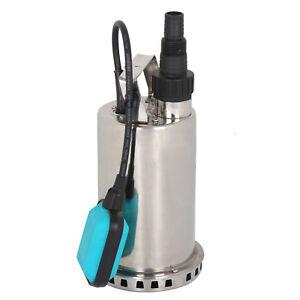 Image Is Loading 1hp 3000 Gph Drain Steel Submersible Pump 750w