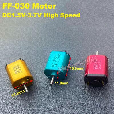 FK-030 Carbon Brush Motor DC1.5V 3V 3.7V 52000RPM High Speed DIY RC Toy Car Boat