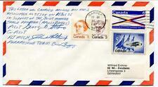 1975 HH-3 Helocopter Space Program Apollo/Soyuz Pilot Copilot Team SIGNED NASA