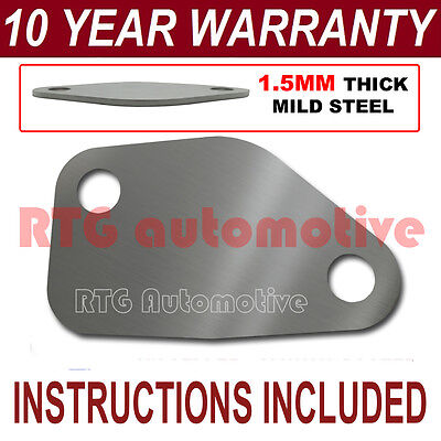 CHEVROLET CAPTIVA EASY FIT EGR EXHAUST VALVE BLANKING PLATE 1.5MM STEEL NA