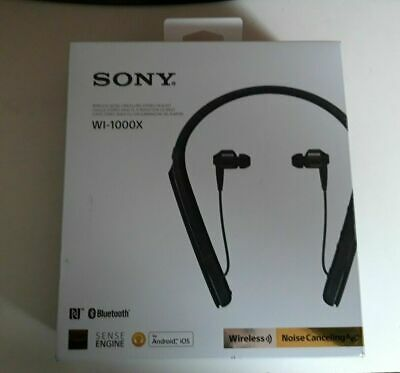 casque bluetooth à réduction de bruit sony wi-1000x noir