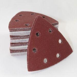Schleifdreiecke Dreieck Schleifpapier Deltaschleifer 93x93x93 mm Klett div Körn