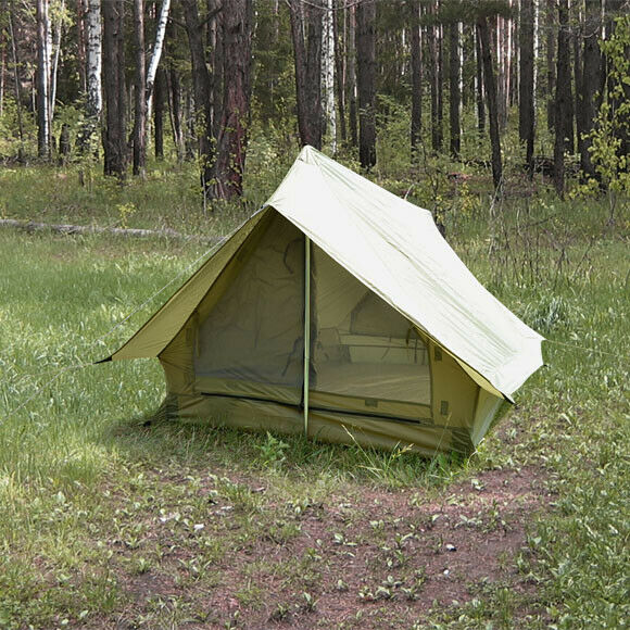 Original Splav SKIF 2 Person classeic Scout Troop Camp Tent 3 Season Lightweight
