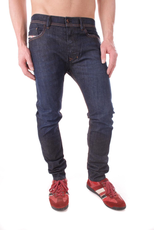 Diesel Tepphar 0842 Slim G _ Stretch Jeans Hommes Pantalon Slim 0842 Carrot af79c6