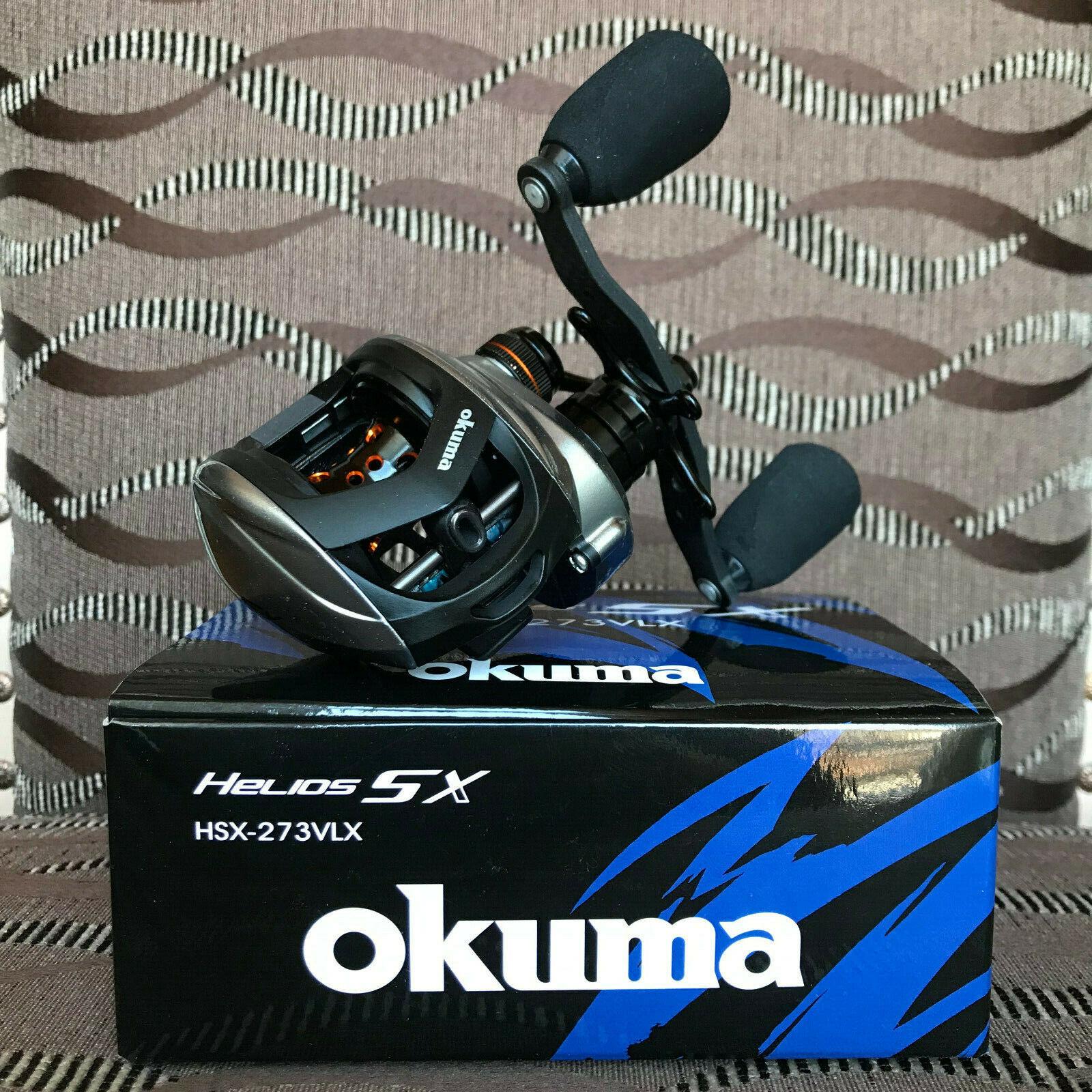 Okuma Helios SX HSX-273LX Linkshand Baitcastrolle
