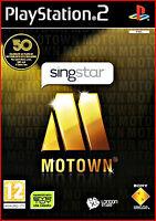 Ps2 Neu/ovp Singstar Motown Pegi/i -gleiche Lieder -italienische Menuesprache
