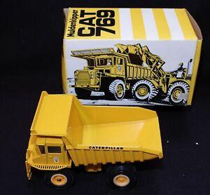 Vintage Gescha #276 Muldenkipper CAT 769 Dump Truck 1:50 Diecast New in Box
