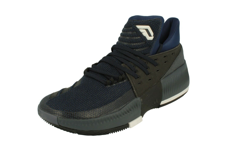 Adidas D Lillard 3 Mens Basketball Trainers Sneakers BB8271