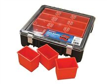 12 Section Professional Tool Organiser Box Screws Nails Storage Carry Case Box