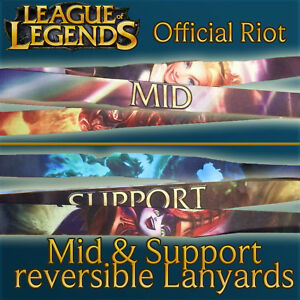 Details about League of Legends ( LoL ) Lanyards Official Riot Merchandise  - Support Version