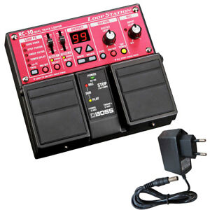 Boss-RC-30-Dual-Loop-Station-Pedal-Netzteil