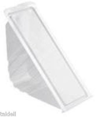 100 Large Plastic Sandwich Container /Triangle/Wedge