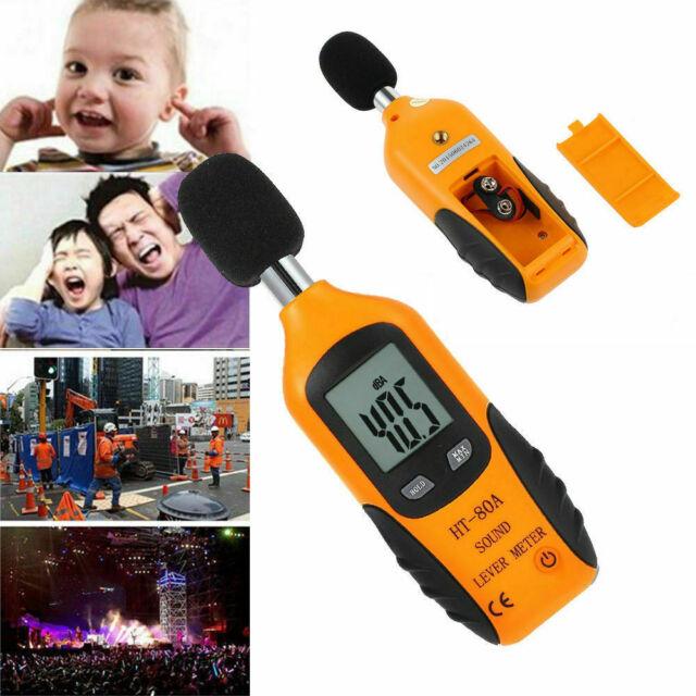 USB Noise Measurement Digital Sound Level Decibel Meter 40-130dB Pressure Tester