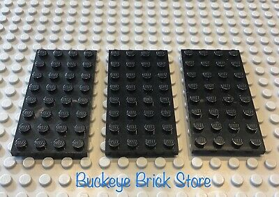 LEGO Lot of 3 4x8 Plate 75212 5571 4483 10018 10088 6762 10030 7191