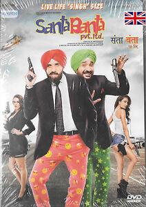 Santa-Banta-pvt-Ltd-baman-Irani-VIR-DAS-neha-dupia-Nuevo-Bollywood-DVD