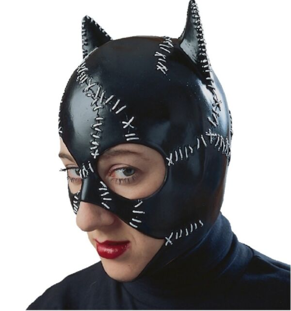 catwoman mask licensed batman adult womens halloween costume