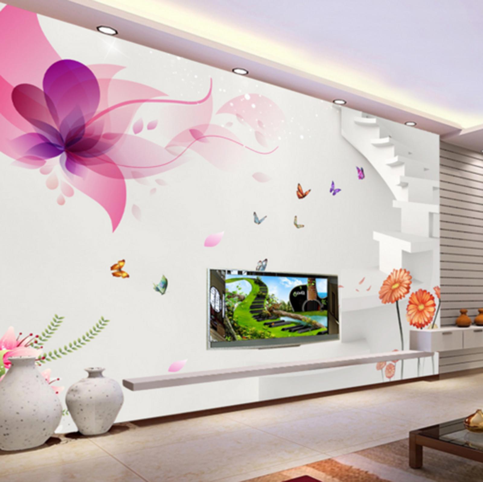 3D Paint Petals 5067 Wallpaper Murals Wall Print Wallpaper Mural AJ WALL UK Kyra