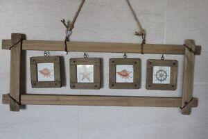 4 Bilderrahmen Im Rahmen Shabby Style A Altem Holz F Fotogrosse