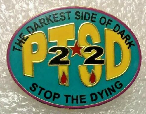 PTSD THE DARKEST SIDE OF DARK...STOP THE DYING PINS