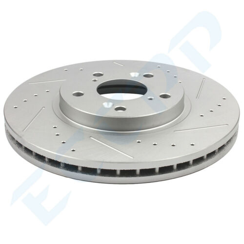 Front Rear Discs Brake Rotors and Ceramic Pads For Acura MDX 2003 2004-2006