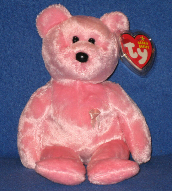 TY AWARENESS the BEAR BEANIE BABY - MINT with MINT TAGS
