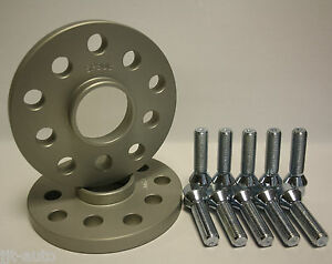2 X 20MM BIMECC HUBCENTRIC KIT ALLOY WHEEL SPACERS FIT FIAT WEEKEND>02  12X1.25