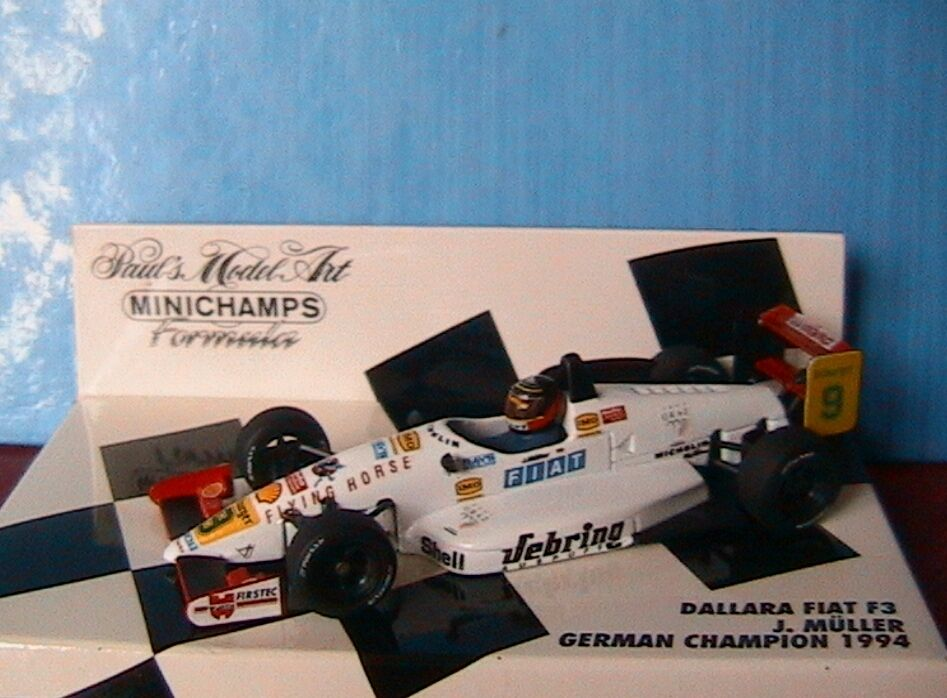 DALLARA FIAT GERMAN CHAMPION F3 J MULLER 1994 MINICHAMPS 1 43 FORMULE 3