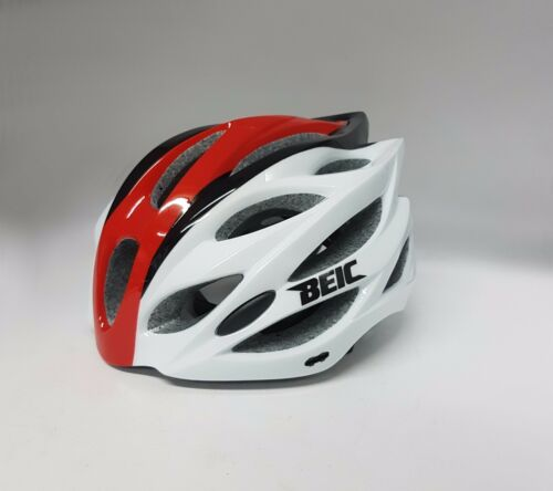 Beic Gemini Road Bike Cycling Helmet Black Red White Size M-L 58-61cm