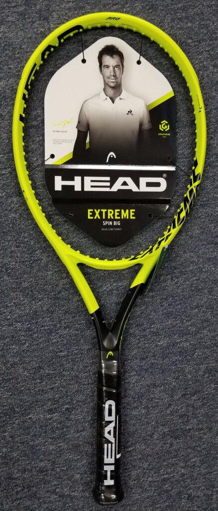 Head Graphene 360 Extreme Pro  Raqueta De Tenis Raqueta Gratis Cuerdas Encordado Gratis  ordene ahora los precios más bajos