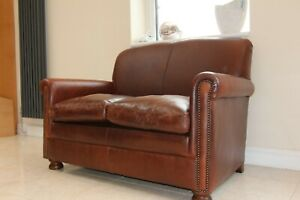 Tetrad prince model compact sofa from John Lewis brown leather sofa burlington