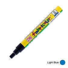 Zig Fabricolor Fabric Marker - 2mm - Light Blue (Pack of 12)