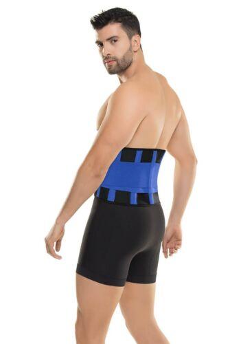Men Ultra Sweat Enhancer Belt Waistband Cincher Cinturilla Support Fajas Hombre