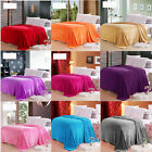 Big Size Warm Microplush Throw Blanket Rug Plush Fleece Bed Decoration 2m×2.3m
