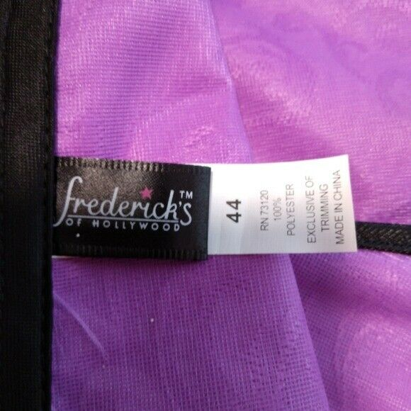 VINTAGE FREDERICK'S OF HOLLYWOOD LACE UP CORSET 44 - image 3