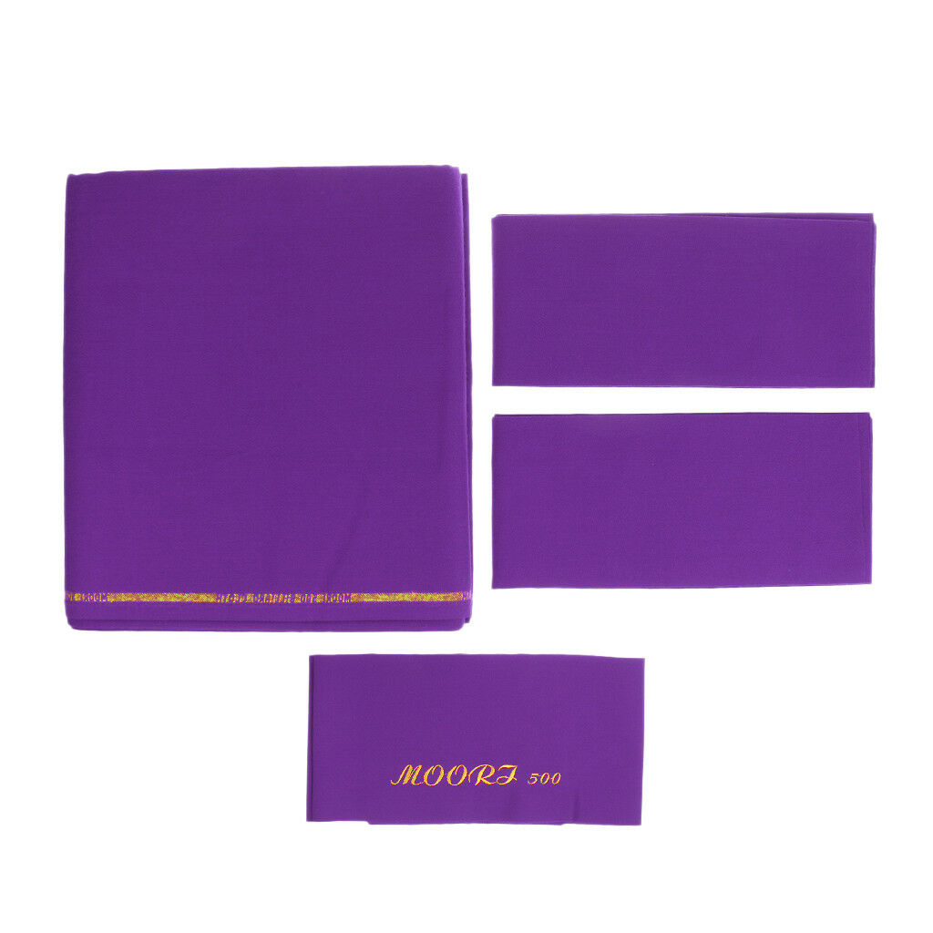 Púrpura m00ri500 manteles, Mesa de billar de 9 pies, fieltro de billar rápido