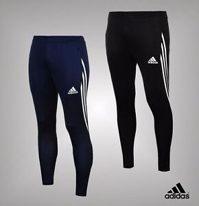 Details about Mens Adidas 2 Zip Pockets 3 Stripe Sereno Track Pants Bottoms  Sizes S-XXL