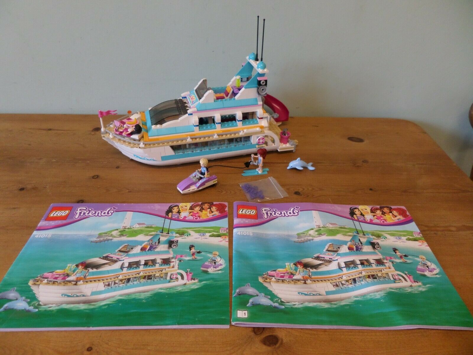 LEGO FRIENDS 41015 Yacht Yacht Yacht Dolphin Cruiser 5409d7