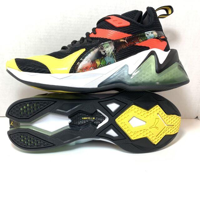 Puma LQDCell Origin Men's Training Shoes Puma Hologram Black/Yellow Size 10