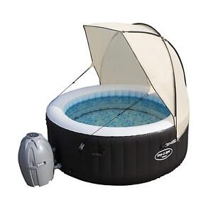 Bestway Lay Z Spa Canopy Hot Tub Vegas Miami Palm Spa Water Proof