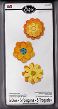 Sizzix Sizzlit Die - Flowers Layers Set : 656324
