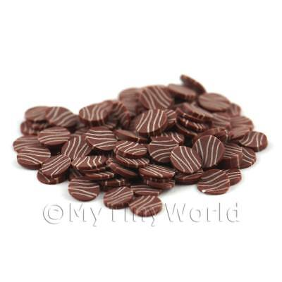 3x weiß Schokolade mit Milch Schokolade Wellen 09nc3