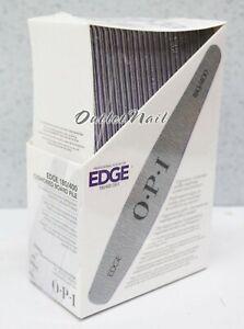 OPI-Nail-Tools-EDGE-File-Silver-180-400-Grit-Cushioned-Board-48-files-ct-FI678