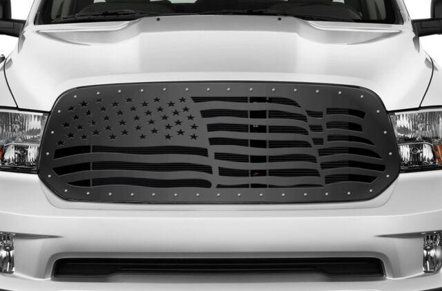 Custom Dodge Ram >> Custom Aftermarket Grille For Dodge Ram 1500 2013 2018 Truck Grill American Flag