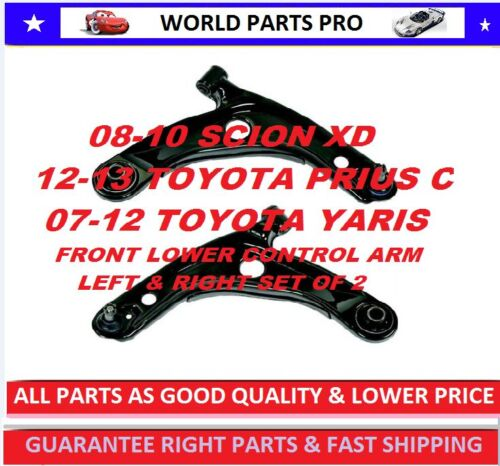Front LOWER Control Arm FOR 2008-2013 SCION XD FITS TOYOTA YARIS 2007-2012