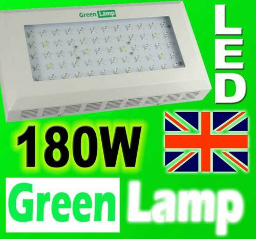 180W LED GREEN LAMP Grow Panel Hydroponic Grow Lamp Light Board 3W LED Flowering