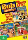 Bob The Builder - Scoop's Recruit Dizzy's Sleepover Muck's Convoy DVD BRAND