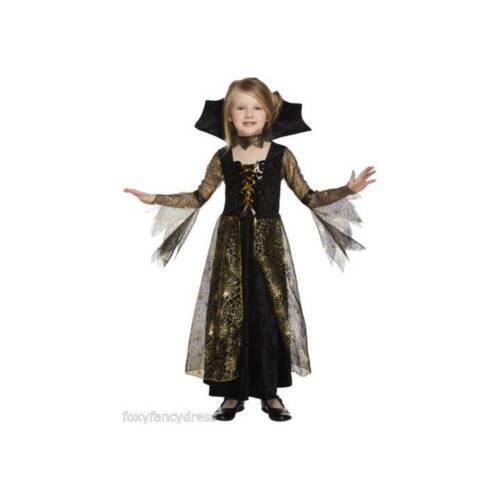 Spiderella Filles vampiress Costume Halloween Robe Fantaisie