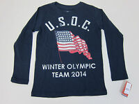 Usoc Winter Olympic Team 2014 Shirt - Youth Small -
